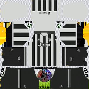 Juventus kit 2022 em casa