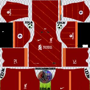 Liverpool dls kit 2022 home