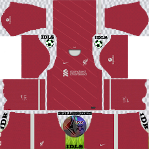 Liverpool kit dls 2021-2022 home