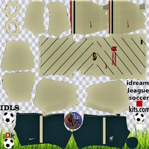 Liverpool kit dls 2022 away
