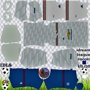 Manchester United kit dls 2022 de distância