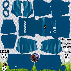 PSG kit dls 2022 gk home