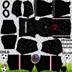 PSG kit dls 2022 third