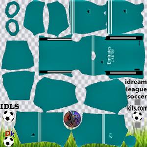 Kit Real Madrid dls 2022 terceiro