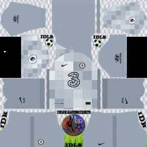 chelsea dls kit 2022 gk home
