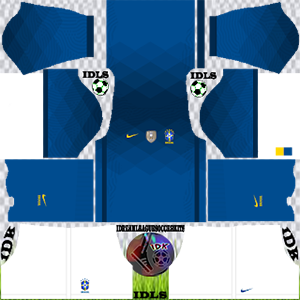 Brazil Copa America kit dls 2021 away
