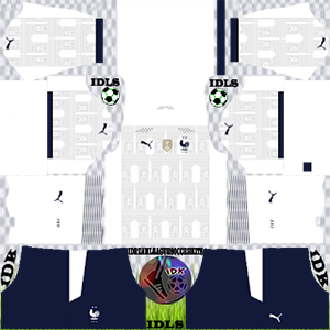 France Euro cup kit dls 2021 away