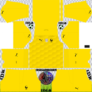 France Euro cup kit dls 2021 gk away