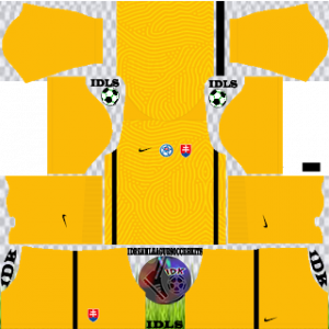Slovakia kit dls 2021 gk home