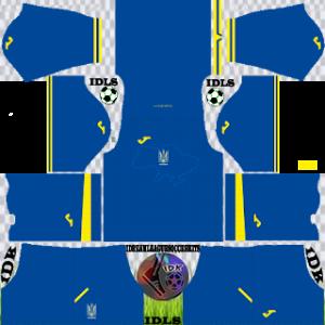 Ukraine kit dls 2021 away
