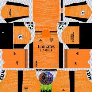 Arsenal dls kit 2022 gk third