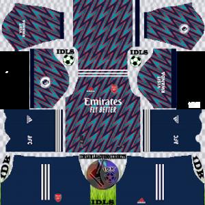 Arsenal dls kit 2022 third
