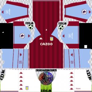 Kits Aston Villa FC DLS 2022