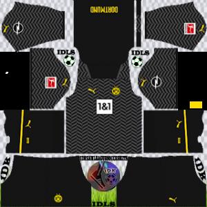 Borussia Dortmund dls kit 2022 de distância