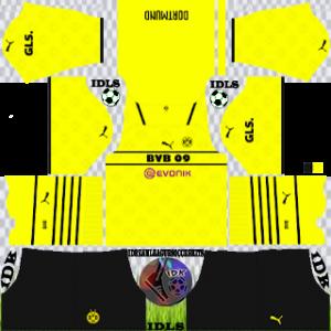Borussia Dortmund dls kit 2022 third