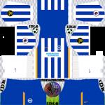 Brighton Hove Albion DLS Kits 2022 – DLS 2022 Kits & Logos