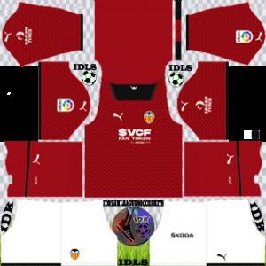 Valencia dls kit 2022 away
