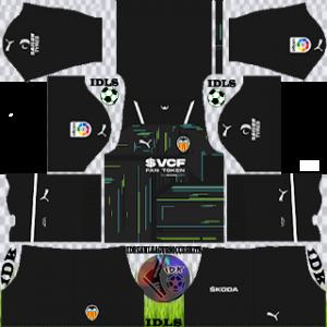 Valencia dls kit 2022 gk away