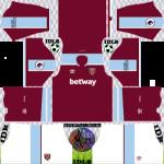 West Ham United DLS Kits 2022 – Dream League Soccer 2022 Kits & Logos