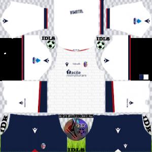 Bologna FC dls kit 2022 away