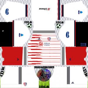 Cagliari dls kit 2022 away
