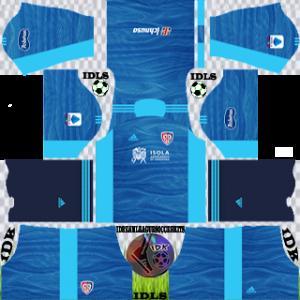 Cagliari dls kit 2022 gk away