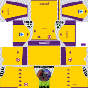 Fiorentina dls kit 2022 third