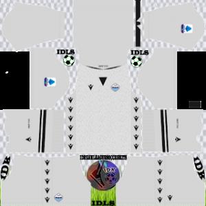 Lazio dls kit 2022 gk home