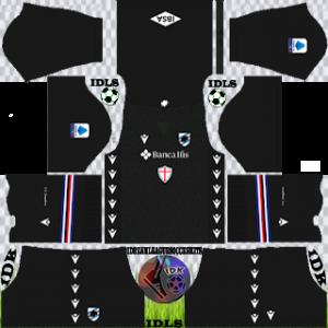 Sampdoria FC dls kit 2022 gk home