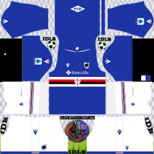 Sampdoria FC DLS Kits 2022