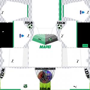 Sassuolo FC dls kit 2022 away