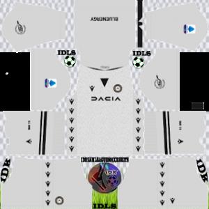 Udinese dls kit 2022 gk away