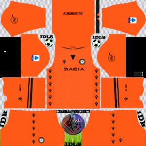 Udinese dls kit 2022 gk home