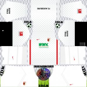 Augsburg FC dls kit 2022 away