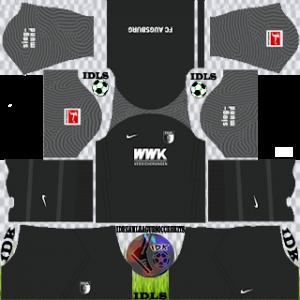 Augsburg FC dls kit 2022 third