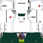 Borussia Monchengladbach DLS Kits 2022 – Dream League Soccer 2022 Kits