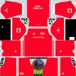 Union Berlin DLS Kits 2022 – Dream League Soccer 2022 Kits & Logos
